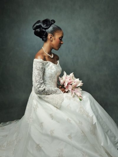 Wedding hairstyle ideas for brides with afro hair, afro hair salon, south west london