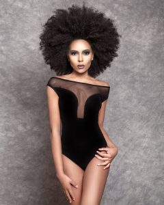 transition relaxed hair to natural afro hair, junior green hair salon, kensington, london