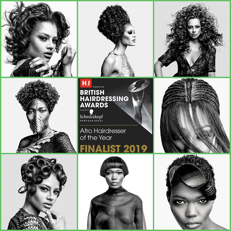 Junior Green Named Afro Hairdresser of the Year Finalist 2019