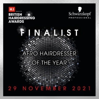 Junior Green Named Afro Hairdresser of the Year Finalist 2021