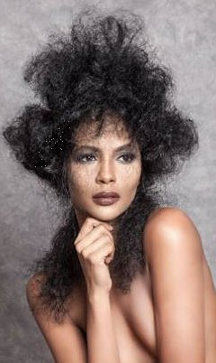 Hair Collection Junior Green Afro Hairdressers Kensington London