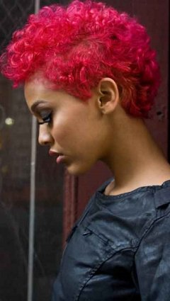 Afro Hair Colour, Junior Green Hair Salon, Kensington