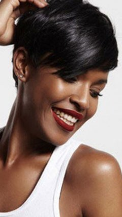 Short Hair Ideas for Black Women, Junior Green Hair Salon, Kensington